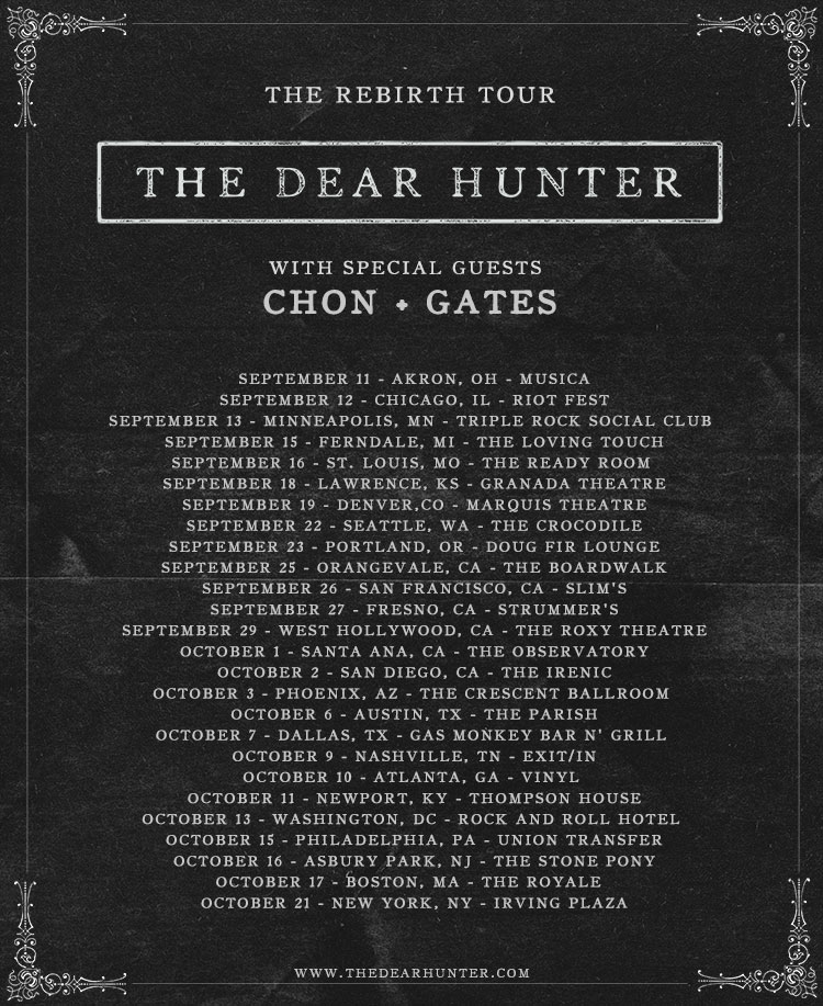 TheDearHunter-RebirthTour