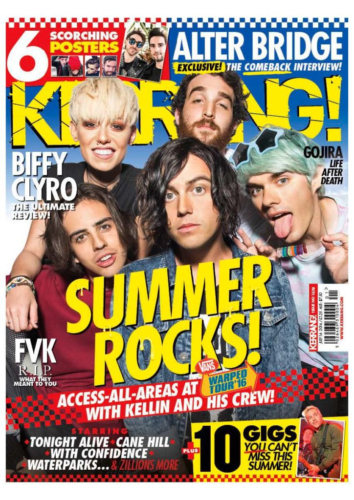Pages from Waterparks - Kerrang! Cover - July 2016