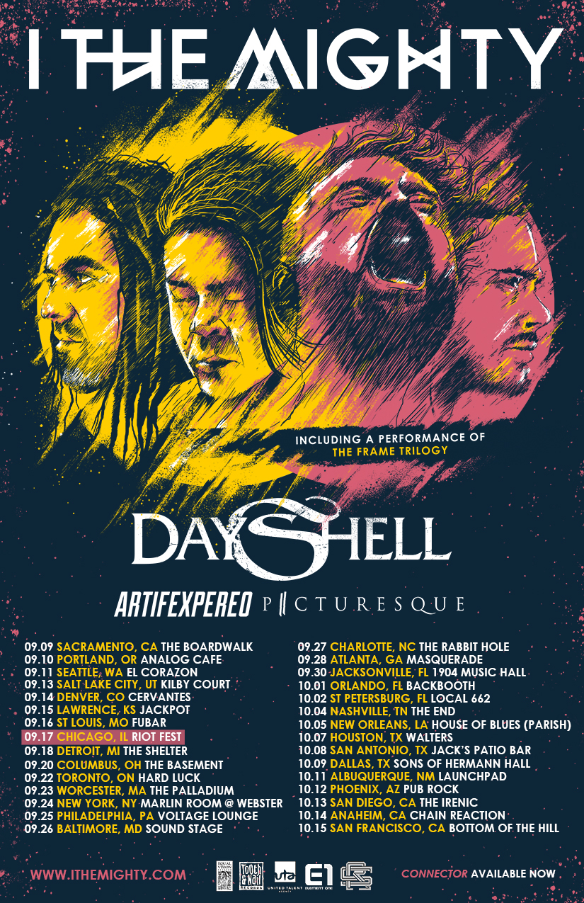 I The Mighty Announce Headline Tour With Dayshell Artifex Pereo